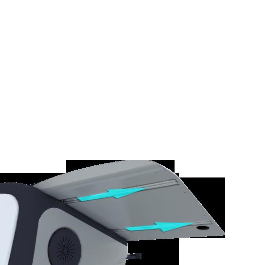 Интерактивная трибуна AHA elf-72G крышка отодвигается