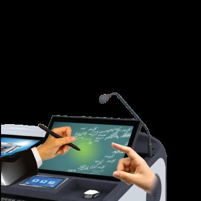 Интерактивная трибуна AHA elf-72G доступно рисование электронным пером