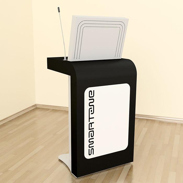 Интерактивная трибуна SMARTONE EGO19 вид спереди