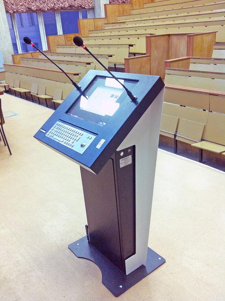 Интерактивная кафедра SMARTONE PRO15 в Московском государственном машиностроительном университете (МАМИ)