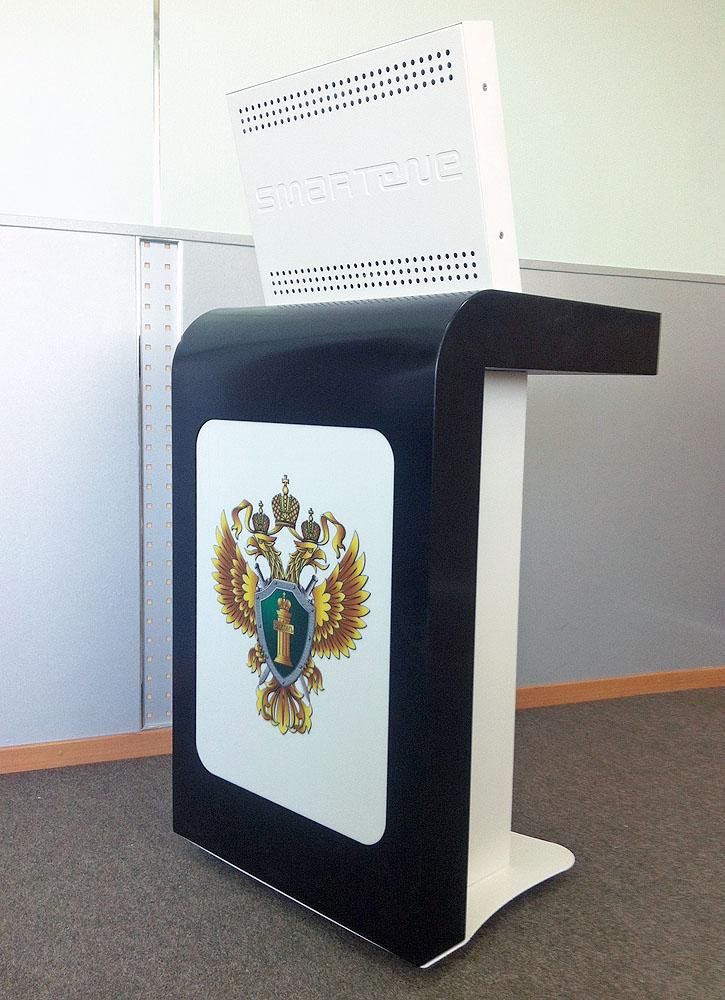 Интерактивная трибуна SMARTONE EGO19 в Ульяновской прокуратуре