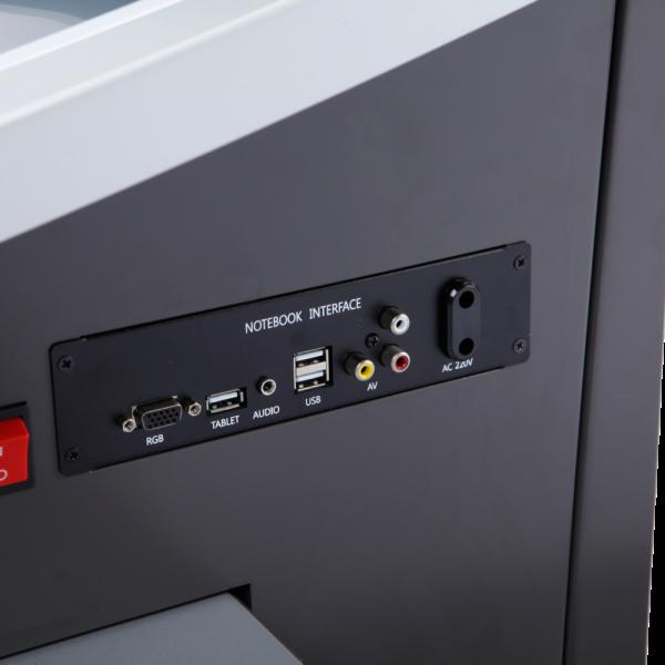 Мультимедийная трибуна Sabio-220D/Sabio-220S входы для подключения устройств