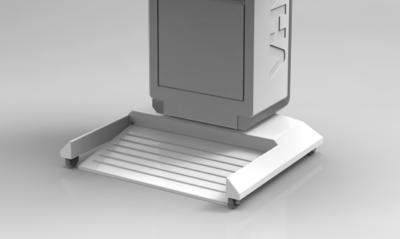 Интерактивный подиум AHA, стойка на колёсах