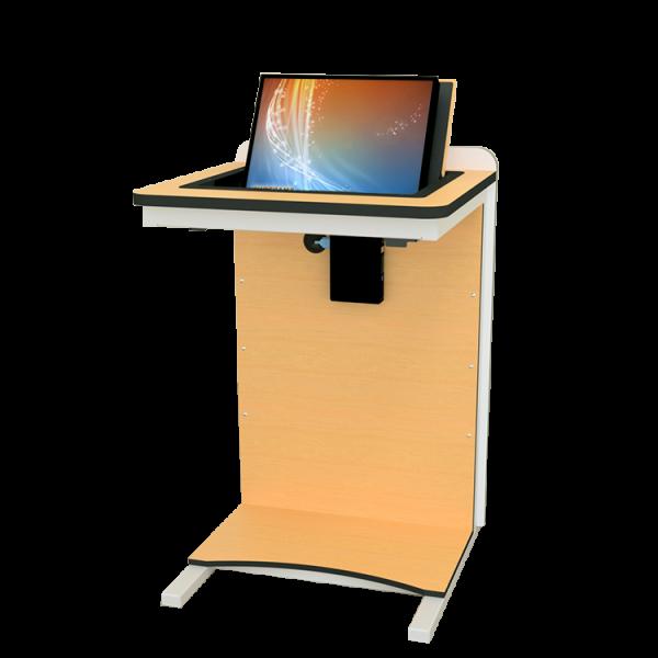 Трибуна с монитором EGO5 вид со стороны докладчика
