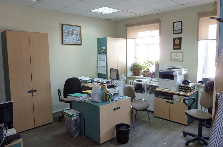 Офис компании ТЕХПОД в Москве